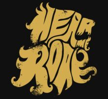 Hear me Roar - Yellow Kids Clothes