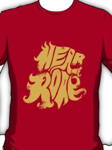 Hear me Roar - Yellow T-Shirt