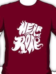 Hear me Roar - White T-Shirt