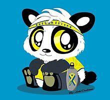 Boston Strong Panda by PandaBoxArt