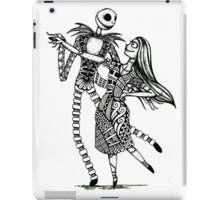 Jack and Sally, The Love Story iPad Case/Skin