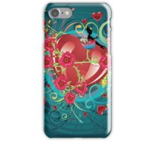 Hearts and Roses 2 iPhone Case/Skin
