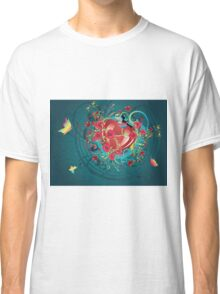 Hearts and Roses 2 Classic T-Shirt