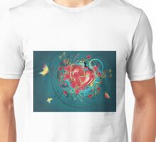 Hearts and Roses 2 Unisex T-Shirt