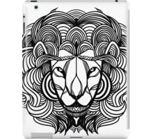 Zen Lion Black iPad Case/Skin