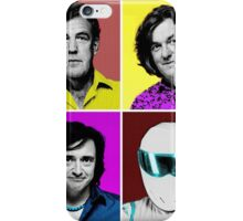 Top Gear Inspired Pop Art, All Personalities in One iPhone Case/Skin