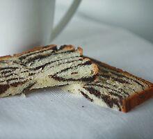 tea with poppy cake by mrivserg