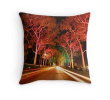 Midlane Melodies Throw Pillow