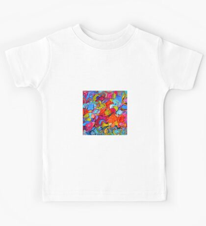 Colorful abstract Kids Tee