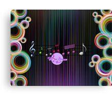 MoonDreams Music Abstract Color   Canvas Print