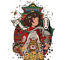 Studio Ghibli by supercoolman