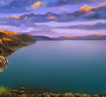Baycal Lake Landscape by Ldarro