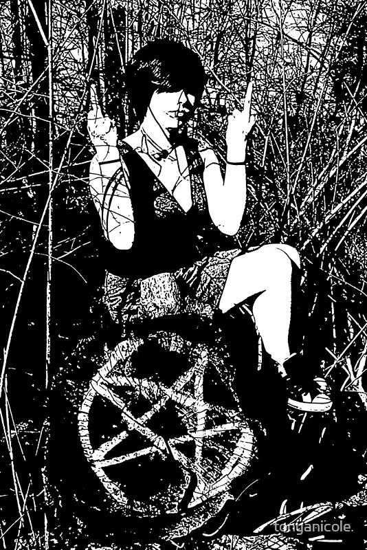 Pentagram by tonyanicole