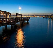 Pier Light II by Bryan Peterson