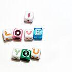 I love you! by Mariann Rea