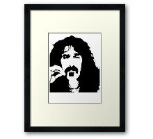 Frank Zappa T-Shirt Framed Print