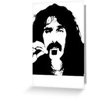 Frank Zappa T-Shirt Greeting Card