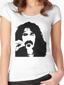 Frank Zappa T-Shirt Women's Fitted Scoop T-Shirt