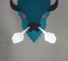 Buffalo by Wylee Sanderson by ucodesign