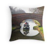 Bridge 95 - Braunston Throw Pillow