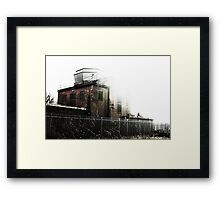 Abandoned Radio Tower Framed Print