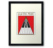 Electric Music Framed Print