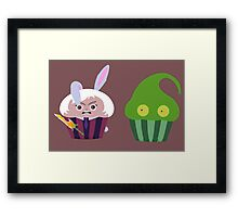 league of legends zac riven Cupcakes Framed Print