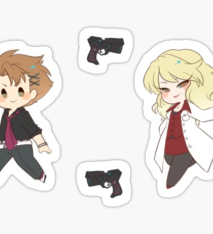 Psycho Pass 3 Sticker