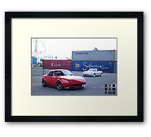 LWC - Jinba Ittai Framed Print