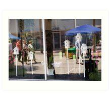 Window Reflections Art Print