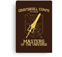 Grayskull Corps Canvas Print