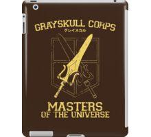 Grayskull Corps iPad Case/Skin