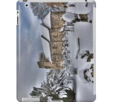St Cuthbert's in the Snow iPad Case/Skin