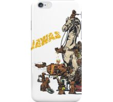 Java Party Text Faded iPhone Case/Skin