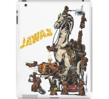 Java Party Text Faded iPad Case/Skin