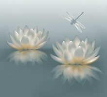 Lotus and Dragonfly by FantasyDesign