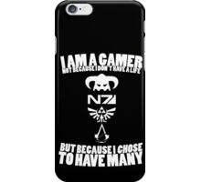 I am a gamer... iPhone Case/Skin