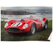 1959 Ferrari 250 TR59/60 Fantuzzi Spyder Poster