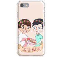Easter Baking  iPhone Case/Skin