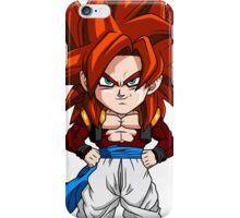 Gogeta Super Saiyan 4 Chibi iPhone Case/Skin