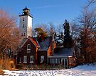 Erie Lighthouse by Kathy Weaver