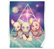 Galaxy puppies Poster