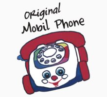 Original Mobil Phone One Piece - Short Sleeve
