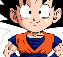 Goku Chibi Sticker