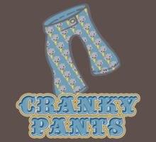 Funny Cranky Pants Design by doonidesigns