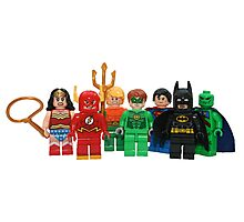 LEGO Justice League of America Photographic Print
