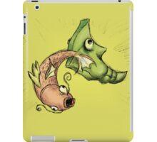 Magikarp Vs. Metapod iPad Case/Skin