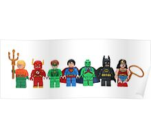 LEGO Justice League of America Poster