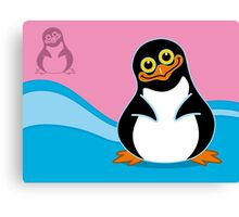 The Penguin Canvas Print