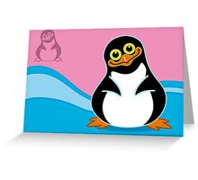 The Penguin Greeting Card